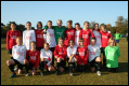 Caversham AFC U12 Girls - Red and White Kit